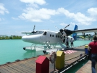 Umstieg ins Wasserflugzeug