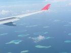 Anflug zum Inselparadies